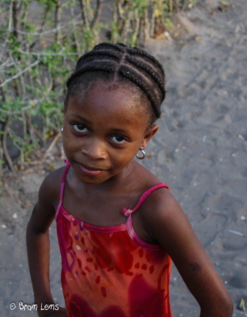 Meisje-Mozanbique