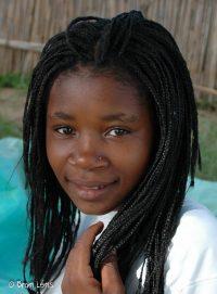 Meisje-Mozambique